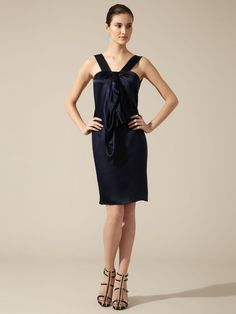 Silk Draped Front Dress by Magaschoni on Gilt.com