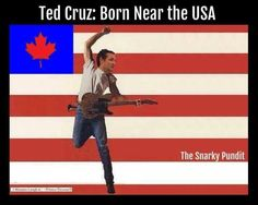Funny Memes Skewering the 2016 GOP Candidates: Ted Cruz: Born Near the USA
