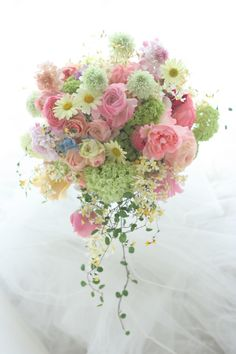 Pastel Bouquet, Pastel Flowers, Elegant Flowers, Floral Bouquets, Wedding Bouquets, Wedding Flowers, Flowers For You, Love Flowers, Beautiful Flowers