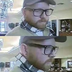 Now today the internet is sending me links to this ginger bank robber in Texas because they think he looks like me.  I have to agree...questionable taste level and otherwise terrible accessories aside, of course. 😉  Story: http://www.nola.com/crime/index.ssf/2016/08/fbi_looking_for_red-bearded_ba.html   #MostWantedDoppelganger