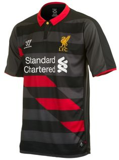 Liverpool Away Black Soccer Jersey Shirt Liverpool Fc Shirt, Liverpool Football Club, Soccer Shop, Soccer Kits, Football Soccer, Football Shirts, Soccer Jerseys, Nfl Oakland Raiders, Sports