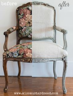 PART 5 UPHOLSTERING A FRENCH CHAIR French Chair Collage