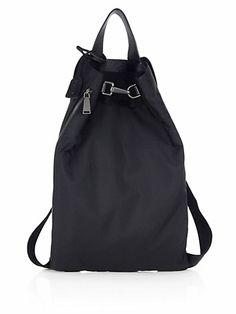 Jil Sander - Nylon Backpack - Saks.com