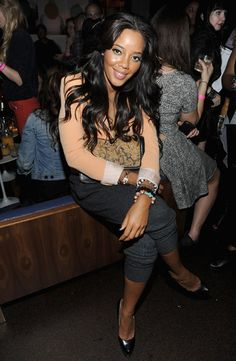 Angela Simmons ... loving the #hair!! #weave #extensions