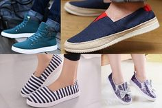 Fashion Trends Keep on Changing with time. Fashion of Shoes also change with Season. See collection of Canvas Shoes for Men, Women and Girls in Pakistan. Mens Canvas Shoes, Fashion News, Fashion Trends, Shoe Collection, Girls Shoes, Pakistan, Vans, Sneakers, Change