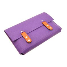Customized Wool Felt Computer Briefcase with leather Strap,Direct Supplier From China,Material:ECO Felt,Features:1)Customized Color and Size,2)OEM/ODM Available,3)Multi-functional,4)Soft and Water-proof Material