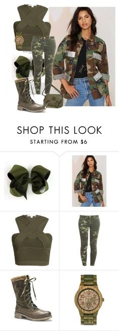 """""""Army girls"""" by funnyvorema ❤ liked on Polyvore featuring American Vintage, Jonathan Simkhai, Current/Elliott, Muk Luks, WeWood, Ralph Lauren, women's clothing, women's fashion, women and female"""