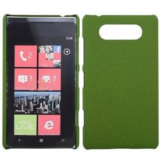 Rock Shell (Grønn) Nokia Lumia 820 Deksel