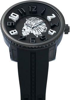 Tendence Apache Skull -Black & White