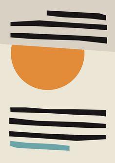 Modern Abstract Print, Framed Abstract Watercolour, Modern Art Set, Scandinavian Art framed Contemporary Art 24x36 20x30 18x27 14x20 11x17