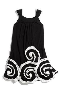 Isobella & Chloe Swirl Applique Dress $40.90