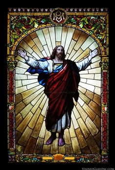 Christ Exalted - 2465 - Stained Glass Inc