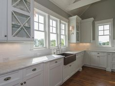 Browse HGTV's pictures of beautiful kitchen window designs and find ideas and inspiration for your dream kitchen.