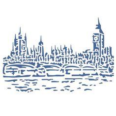 Stamperia - London - Stencil