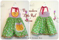"""The modern """"Little Red Ridding Hood"""" dress"""