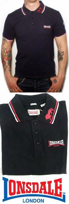 Ref. Lonsdale 386 - Polo negro Pedidos (Worldwide Orders): www.barrio-obrero.com
