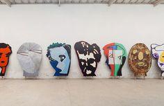 Trabalhos do artista Luiz Paulo Baravelli (Foto: Reprodução)