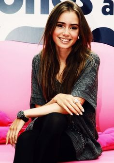 Lily Collins is perfect.