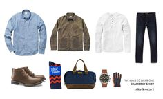 Five Ways to Wear One: Chambray Shirt