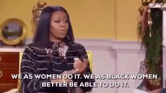 New party member! Tags: women michelle obama oprah own flotus farewell black women we as black women better be able to do it we as women do it
