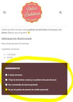 caja ingredientes móvil Sin Gluten, Stevia, Keto, Salmon, Food And Drink, Pie, Gestational Diabetes, Dietitian, Recipes
