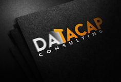DataCap Consulting Illustration Mock Up - Screen Print