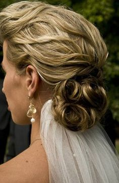 medium hair styles for women braided bun hair