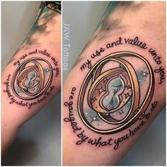 time turner tattoo - Google Search