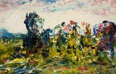 "Jack B Yeats - ""He Wins"" Kensington School, Moving To Ireland, Study In London, Jack B, Short Stories For Kids, Tate Gallery, Irish Art, Black Animals, Jackson Pollock"