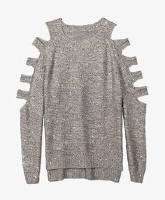 Cutout Sequined Pullover Sweater | FOREVER21 - 2054269880