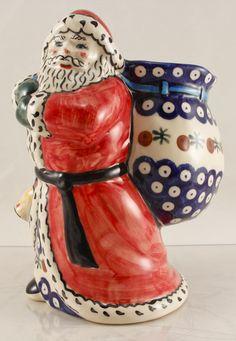 Polish Pottery, Handmade Polish Pottery Holiday Pieces