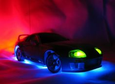 Neon car lights - it worked for that movie, but unless you're really driving a souped up Skyline or GT-R, we would ask y'all to think twice