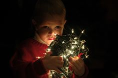Toddler Christmas picture idea