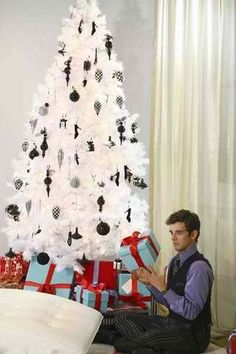 This if from the show Ugly Betty. I have that tree and all the same ornaments! Love it