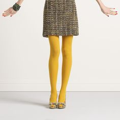Graphic dot tights