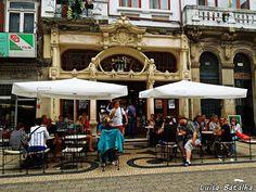 Viajar de Mochila às Costas: Café Majestic