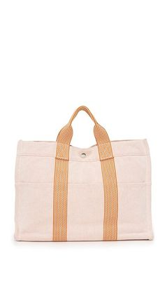 af6eef4f1669 What Goes Around Comes Around Hermes Fourretout Tote (Previously Owned)  Pink Tote Bags