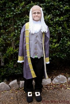 Xander S Completed Benjamin Franklin Costume All Ideas I