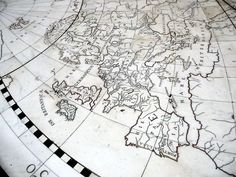 maps at palace in Amsterdam