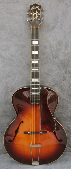 Levin (model unknown, never appeared in any known catalog) 1937 Sunburst, made in Sweden