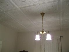 Styrofoam Decorative Ceiling Tiles Decorative Ceiling Tiles In Living And Dining Rooms  Home Styles