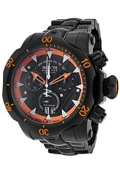 f9e52de70d2 Invicta Men s 1601 Venom Analog Display Swiss Quartz Black Watch  Watch   Invicta G Shock
