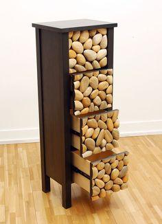 Pine Beetle Cabinet