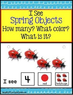 Spring Sentence Building using sight words, counting to 10, color recognition, and identifying objects for Autism, Special Education, and ELL learners!NEW RELEASE!Forming sentences for our young learners or those with autism, can be challenging. Using real-life pictures for easy recognition of common objects and sight words as sentence starters, students love learning to read and form sentences.