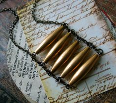 Ladder Necklace - Urban Tribal #boho #jewelry #jewellery