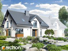 projekt Dom w srebrzykach 3 (B) widok 1