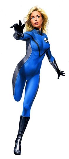 Invisible Woman by Mike Mayhew