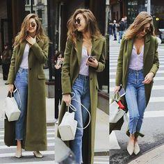 January 27 - Gigi in New York.  #gigihadid #newyork #style  #fashion #street #jeans #outfit  #mood #angel #model #legs  #body #fashionkilla #rihanna  #kendalljenner #caradelevingne  #follows #followforfollow  #followme #follow #like4like  #like #likeforlike #like4follow  #likeforfollow #likes #likesforlikes