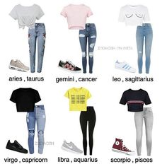 zodiac signs outfits * zodiac signs & zodiac signs funny & zodiac signs outfits & zodiac signs dates & zodiac signs leo & zodiac signs love & zodiac signs art & zodiac signs clothes Zodiac Signs Chart, Zodiac Signs Sagittarius, Zodiac Star Signs, Astrology Zodiac, Virgo Horoscope, Leo Zodiac, Astrology Houses, Zodiac Facts, Teenage Outfits