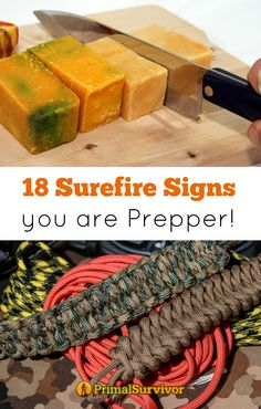 """You Know You're a Prepper When… 18 Surefire Signs You are a Prepper. Ever wonder if you are a prepper? You might not be one of those """"crazy preppers"""", but if you can relate to any of these telltale signs, then you most definitely can call yourself a prepper"""